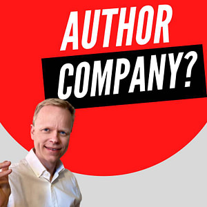 Do authors work for a company?