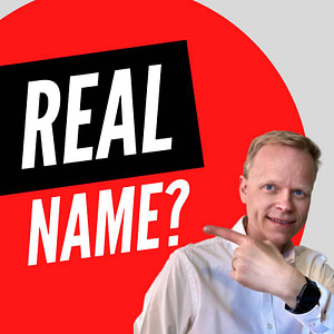 Do I need to use my real name when publishing my book?