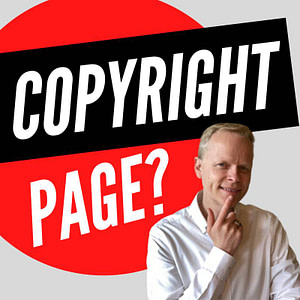 How to write a self publishing copyright page?