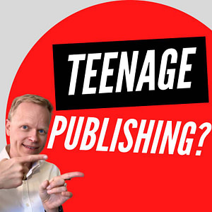 Where can a teenager publish their work online?