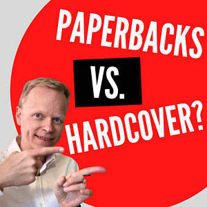 Why are paperbacks considered worse quality than hardcover books?