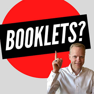 self publishing a booklet