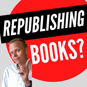 Can a self published book be republished