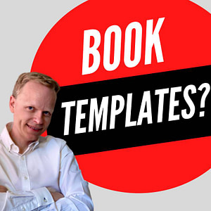 how to self publish on amazon using a book template