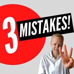 Top 3 Mistakes People Make Self Publishing a Book!