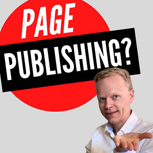 is page publishing a vanity publisher