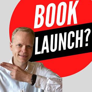 self publishing book launch