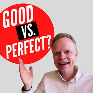 Releasing A Good Vs Perfect Book