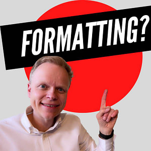The Secret Of Formatting Your Books Right